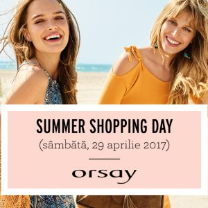 SUMMER SHOPPING DAY LA ORSAY