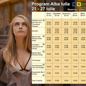 COLOURS CINEMA PROGRAM 21 – 27 IULIE