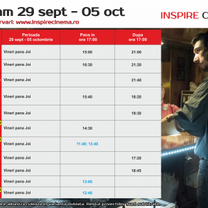 COLOURS CINEMA PROGRAM 29 SEPT – 05 OCT