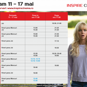 INSPIRE CINEMA PROGRAM  11 Mai – 17 Mai