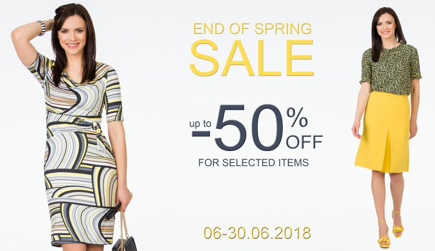 End of Spring SALE – Sense pana la 50%