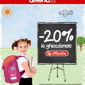 Back to School Diverta – promotie Herlitz reducere de 20%