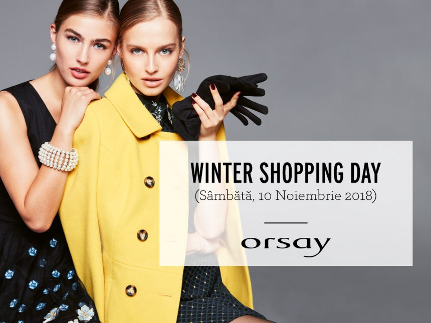 WINTER SHOPPING DAY – 10.11.2018 ORSAY